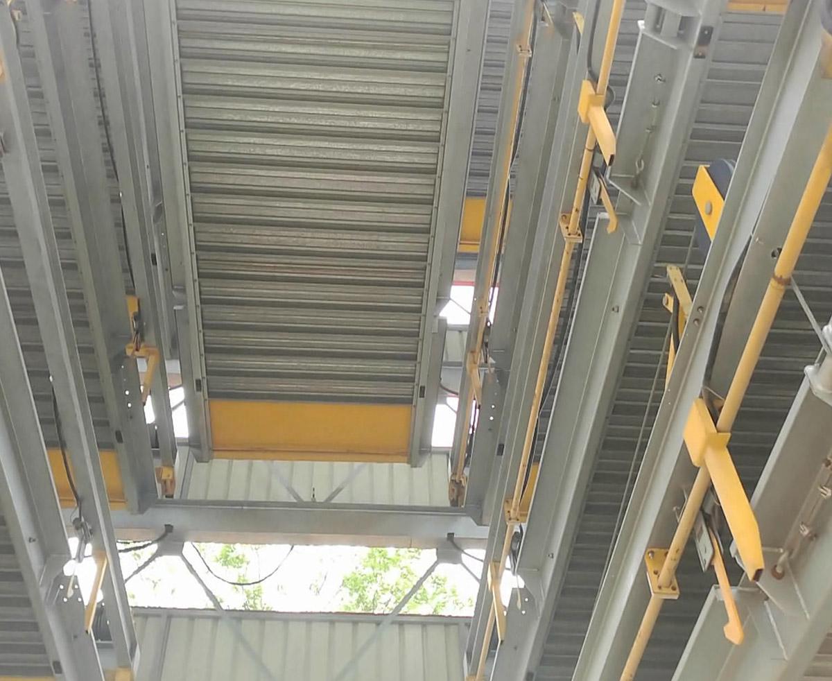 黔西南自动车库七层升降横移立体停车